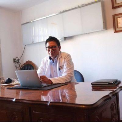 Dr. Cristopher Rubén Ferrel Escobar