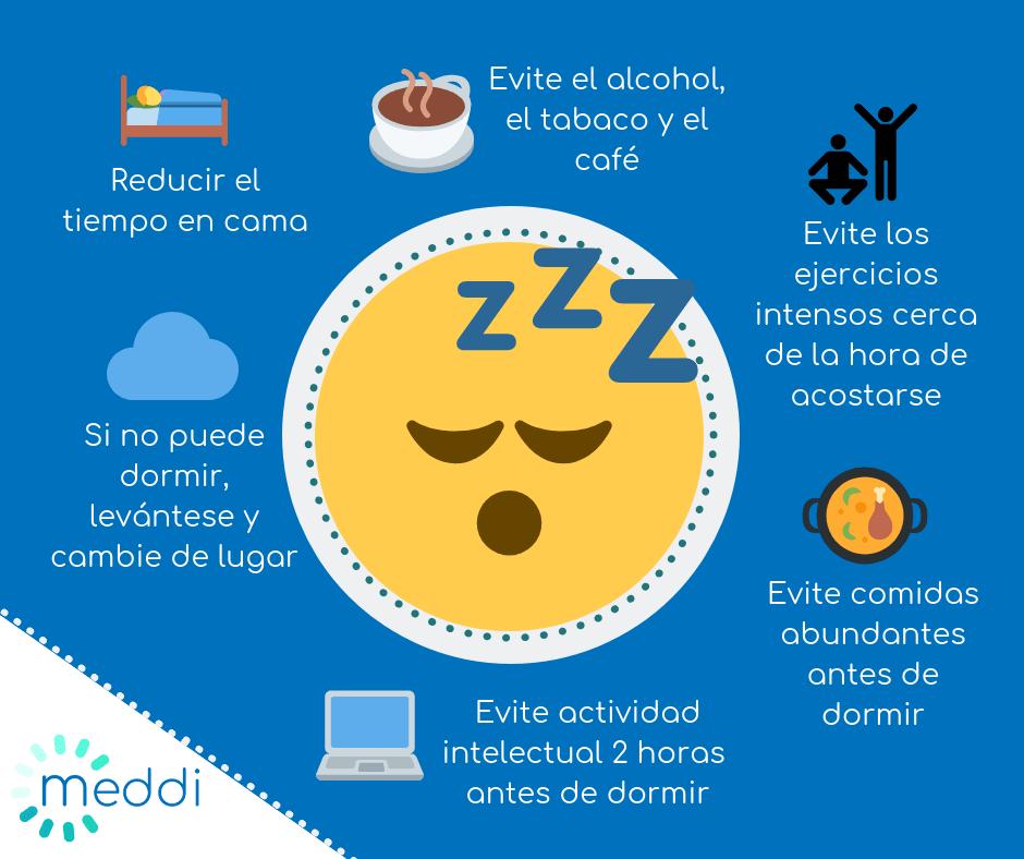 Meddi-insomnio crónico.medidas para dormir bien
