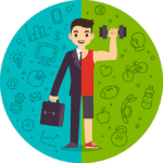 Blog de salud empresarial - Control y prevención de riesgos en la salud del colaborador - contenido 3 - El equilibrio entre la salud y lo laboral - hombre