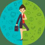 Blog de salud empresarial - Control y prevención de riesgos en la salud del colaborador - contenido 2- El equilibrio entre la salud y lo laboral - mujer