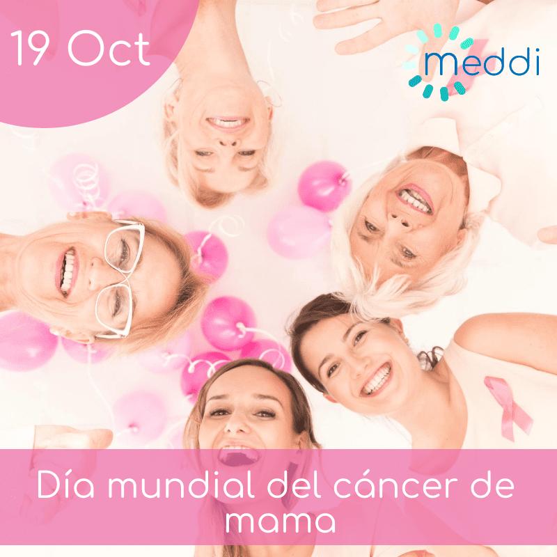 meddi -19 octubre día mundial cáncer de mama