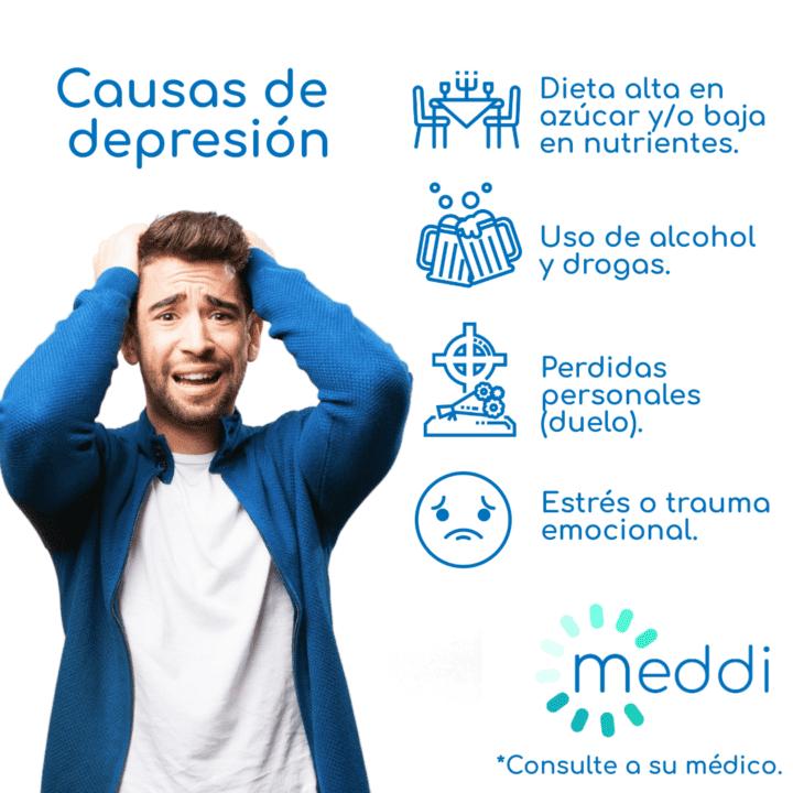 meddi- causas de depresión